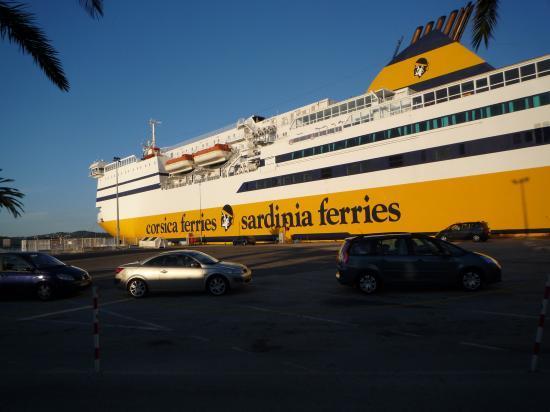 Départ de Toulon