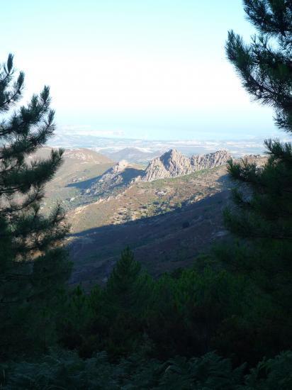 Ascension du Monte Cintu